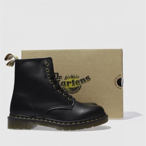 Black Vegan 1460 8eye Boots