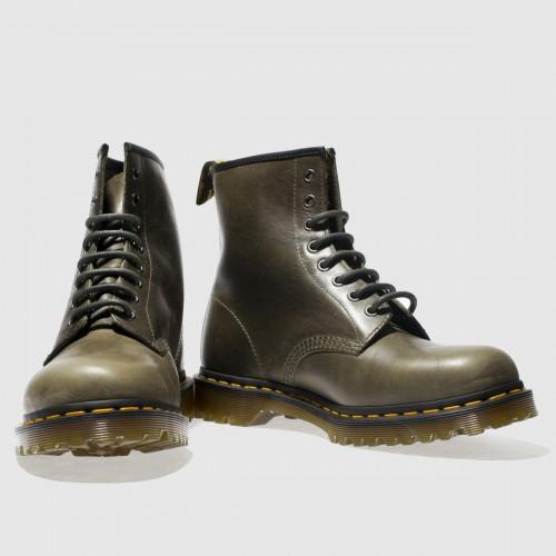 Khaki 1460 8-Eye Boots
