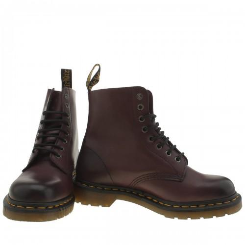 Burgundy Pascal 8 Eye Boots