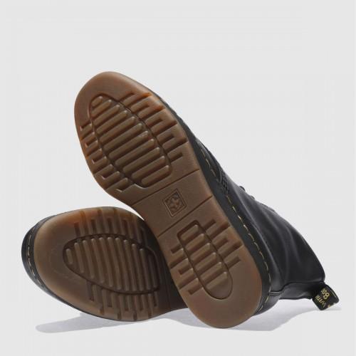 Black Newton 8 Eye Boots