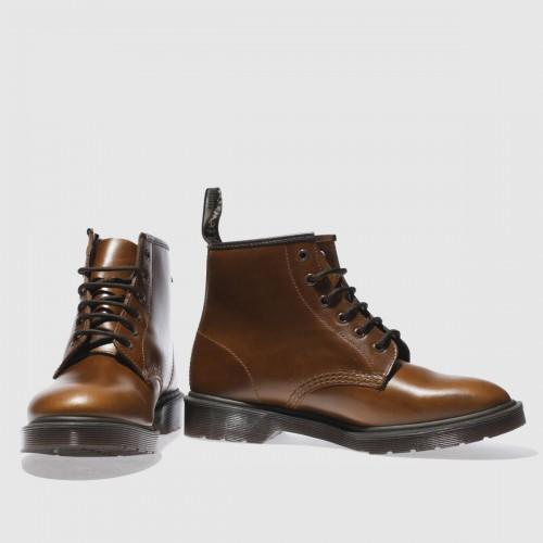 Tan 101 Brando 6 Eye Boots