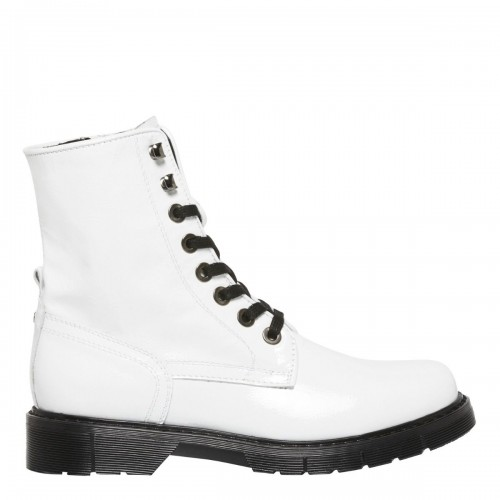 FRANCISCO WHITE PATENT LEATHER