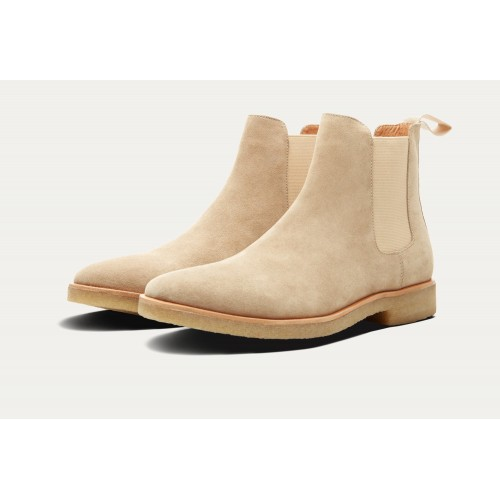 HOUSTON SUEDE CHELSEA BOOT Sand