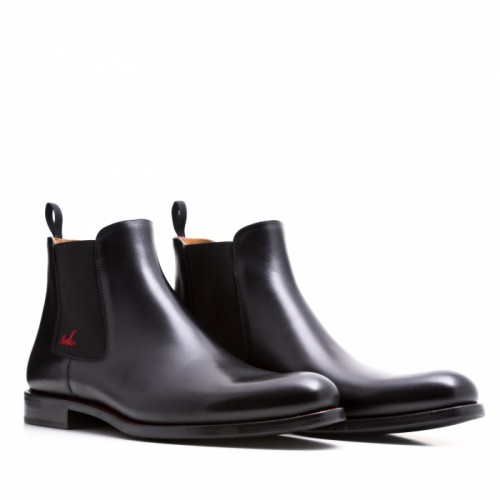 SERFAN CHELSEA BOOT MEN CALF LEATHER BLACK LIMITED EDITION