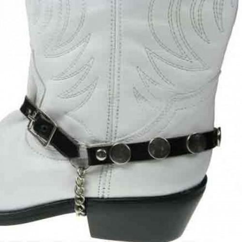 Boot Strap - Circular Button 1/2