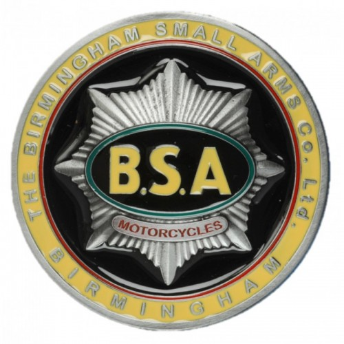 Belt Buckle- BSA Gold Star Tank Badge