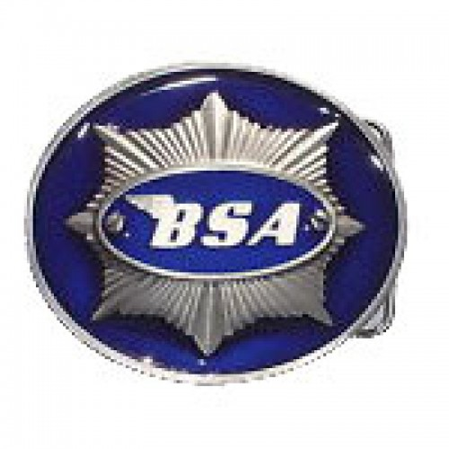 Belt Buckle- BSA Star Blue