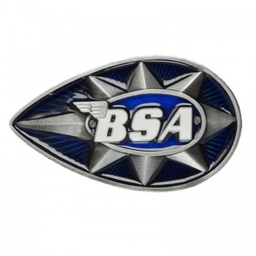 Belt Buckle- BSA Teardrop Star Blue