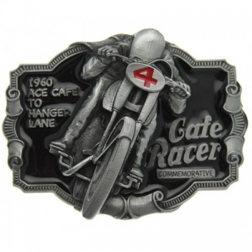 Belt Buckle-Cafe Racer Black
