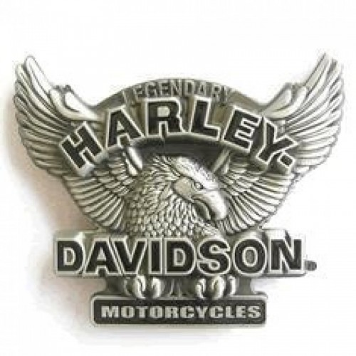 Belt Buckle-Legendary Harley Davidson