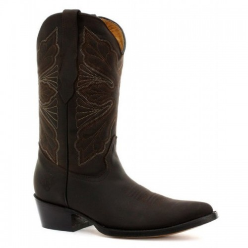 Grinders - Dallas - Cowgirl Boot - Brown