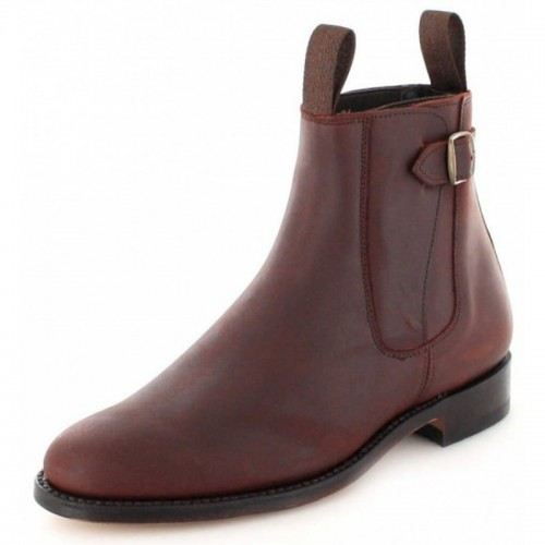 El Estribo - 1690 Crazy Old Arabia Ankle Boots