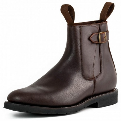 El Estribo - 1690 Serraje Brown Ankle Boots
