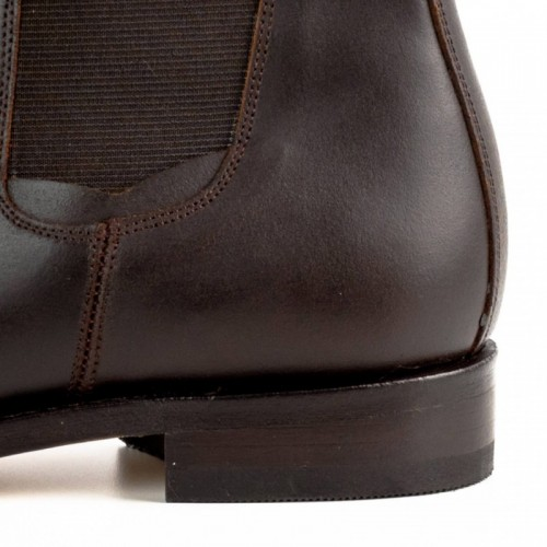 El Estribo - 1691 Serraje Brown Ankle Boots