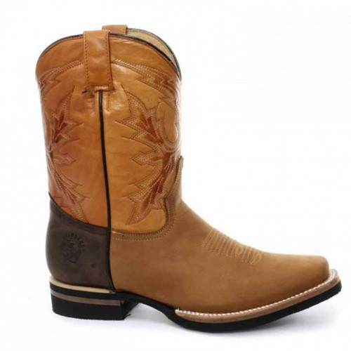Grinders - El Paso - Cowboy Boot - Tan Brown
