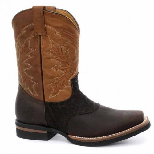 Grinders - Frontier - Men's Cowboy Boot - Brown