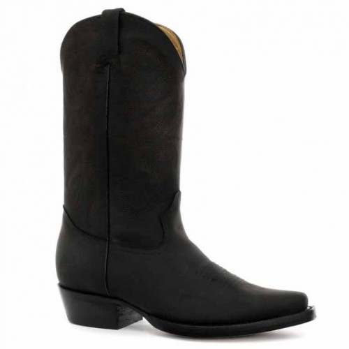 Grinders - Louisiana - Men's Cowboy Boot - Black