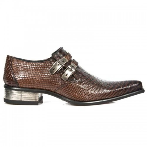 New Rock - M.2246-S22 - Faux Snakeskin - Shoes