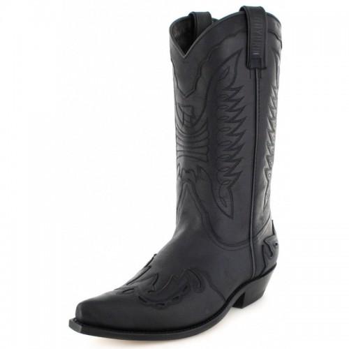 Mayura 017 Cowboy Boot Black