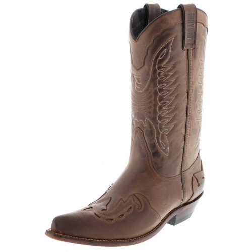 Mayura 017 Cowboy Boot Brown