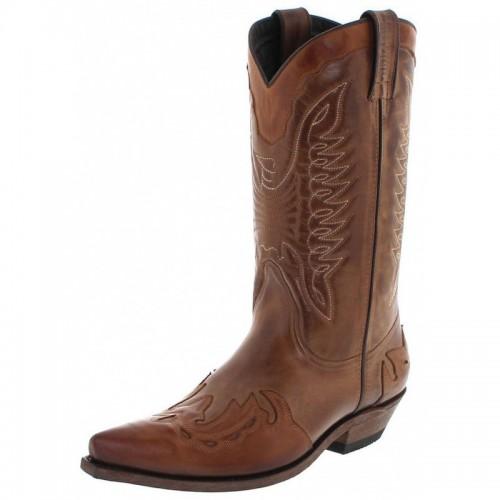 Mayura 017 Cowboy Boot Taupe Ecotan