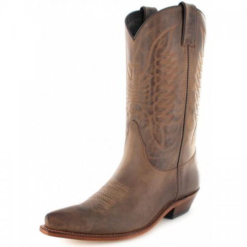 Mayura 020 Cowboy Boot Brown