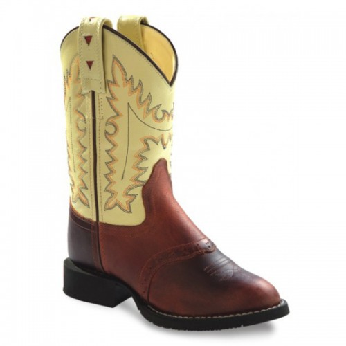 Old West - Youth Cowboy Boots - CW2552Y