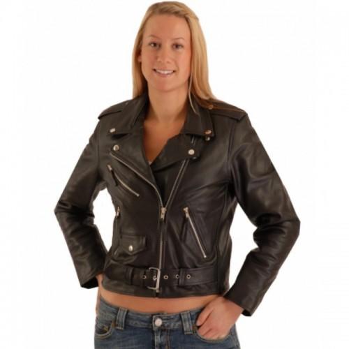 Leather Jacket- Ladies Brando